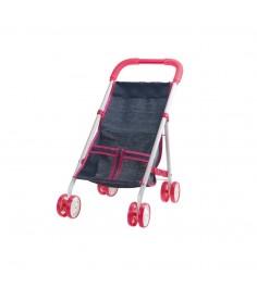 Прогулочная коляска для куклы красотка джинс 1Toy т10381