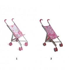Коляска трость для кукол розовая 1Toy т52257