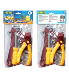Набор инструментов пингвиненок пороро 5 предметов 1Toy т58822