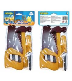 Набор инструментов пингвиненок пороро 5 предметов 1Toy т58823