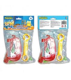 Набор детских инструментов пингвиненок пороро 9 предметов 1Toy т58825