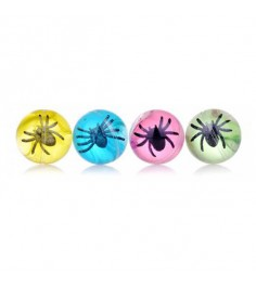 Лизун мяшка паук в шаре 1Toy т59100
