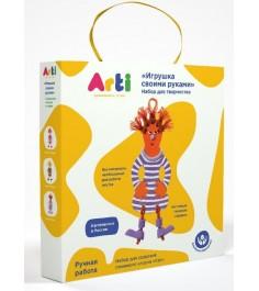 Набор для творчества Arti Глиняный клоун Кэп Г000678