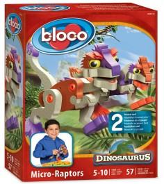 Bloco Динозавр Микро Раптор 30112