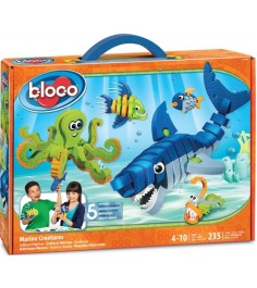 Bloco Морские животные 30241