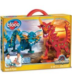 Bloco Драконы Воды и Огня 30552