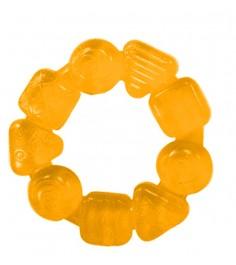 Прорезыватель Bright Starts Карамельный круг жёлтый 10204-1