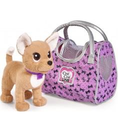 Собачка Chi Chi Love путешественница с сумкой переноской 5893124