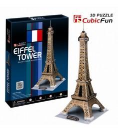 3D Пазл Cubic Fun Эйфелева Башня C044h
