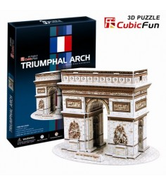 3D Пазл Cubic Fun Триумфальная арка (Париж) C045h