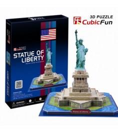 3D Пазл Cubic Fun Игрушка Статуя Свободы (США) C080h