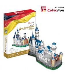 3D Пазл Cubic Fun Игрушка Замок Нойшванштайн (Германия) MC062h