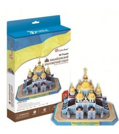 3D Пазл Cubic Fun Михайловский златоверхий собор (Украина) MC130h