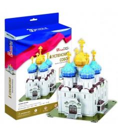 3D Пазл Cubic Fun Успенский собор, Троице-Сергиева Лавра (Россия) MC190h