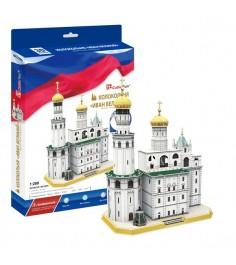 3D Пазл Cubic Fun Игрушка Колокольня Ивана Великого (Россия) MC220h