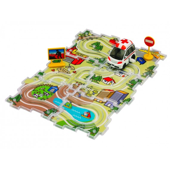 Dickie City Track Set 3315127
