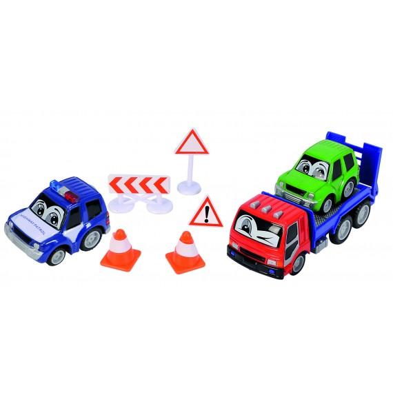 Набор дорожной техники Dickie красный 3315904