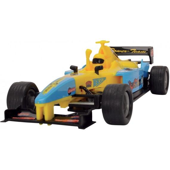 Dickie Формула 1 желтая 3341001