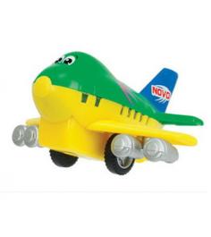 Самолет Dickie желтый с зеленым 3345475