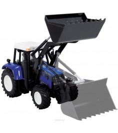 Трактор Dickie синий 3474583