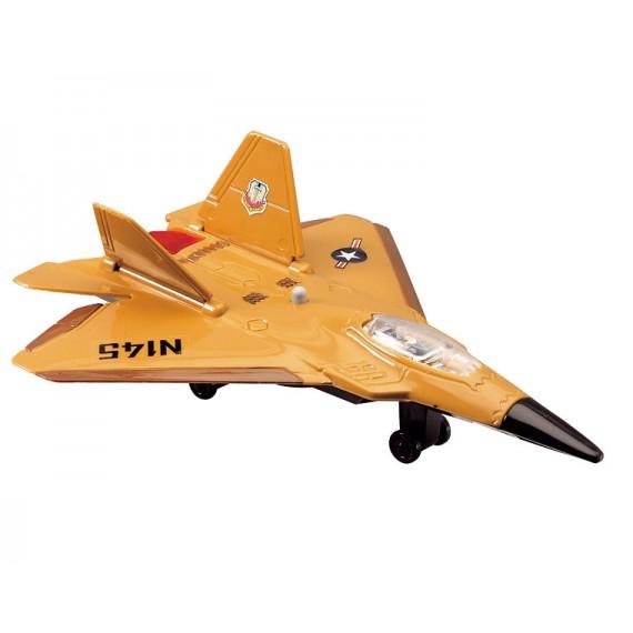 Игрушка Истребитель Dickie желтый 3553006