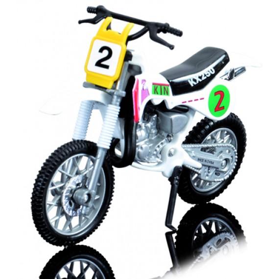 Мотоцикл Dickie Белый 3385773