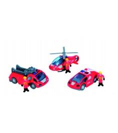 Спасательный набор Dickie красный 3315405