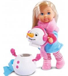 Кукла Еви и снеговик 5732805