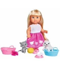 Кукла Еви Домашние питомцы, 12 см 5733044