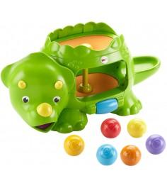 Развивающая игрушка Fisher Price Динозавр с шариками DHW03