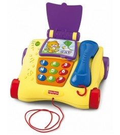 Телефон обучающий Fisher Price Смейся и учись T5258