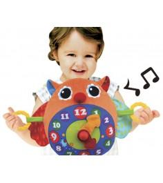 Развивающая игрушка K's kids Часы Сова KA662