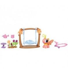 Литл пет шоп Littlest Pet Shop Игровой набор с ходячим зверьком Hasbro 32838H