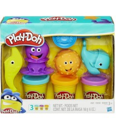 Игровой набор пластилина Hasbro Play Doh Подводный мир B1378