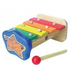 Ксилофон из 4 клавиш Звездочка Im Toy 22008