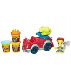 Детский пластилин Play Doh Город Пожарная машина B3416