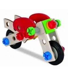 Деревянный конструктор Heros Мотоцикл 2 варианта сборки 39012