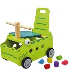 Сортер каталка Крокодил Im Toy 87630
