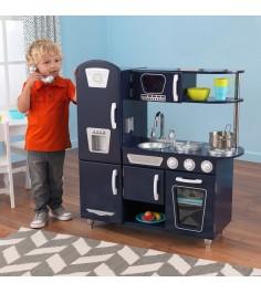 Деревянная кухня Kidkraft винтаж, цвет синий 53296_KE