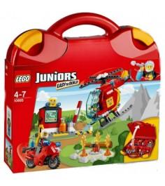 Lego Juniors Чемоданчик Пожар 10685