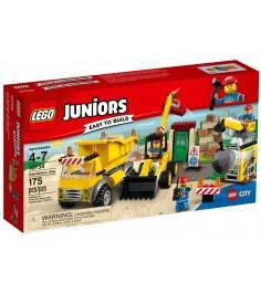 Lego Juniors Стройплощадка 10734