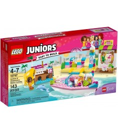 Lego Juniors День на пляже с Андреа и Стефани 10747