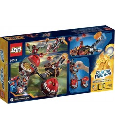 Lego Nexo Knights Безумная колесница Укротителя 70314