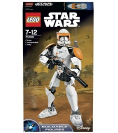 Lego Star Wars Клон коммандер Коди 75108