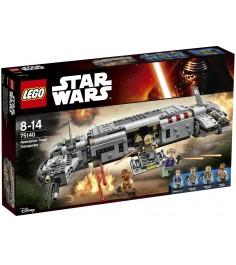 Lego Star Wars Военный транспорт Сопротивления 75140