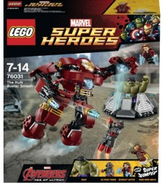 Lego Super Heroes Разрушительный удар Халка 76031