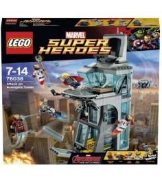 Lego Super Heroes Нападение на башню Мстителей 76038