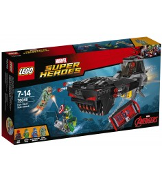 Lego Super Heroes Похищение Капитана Америка 76048