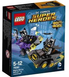 Lego Super Heroes Бэтмен против Женщины кошки 76061