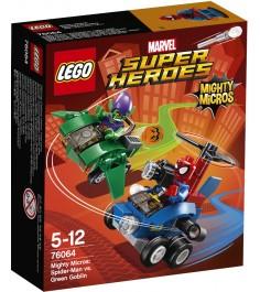 Lego Super Heroes Человек паук против Зелёного Гоблина 76064